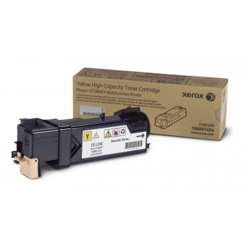 Toner, yellow, XEROX 106R01458