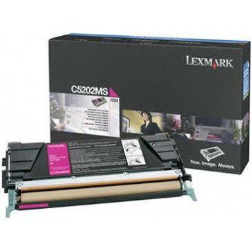 Toner, magenta, LEXMARK C5202MS