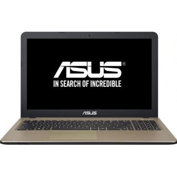 "Laptop ASUS X540SA, 15.6"" HD, Procesor Intel® Celeron® N3060 pana la 2.48 GHz, 4GB, 500GB, FreeDos, Chocolate Black"