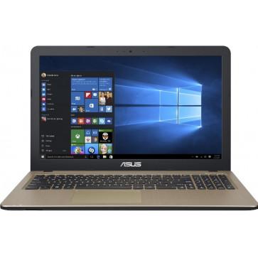 "Laptop ASUS A540SA, 15.6"" HD, Procesor Intel® Celeron® Dual Core N3050 pana la 2.16 GHz, 4GB, 500GB, GMA HD, Win 10 Home, Chocolate Black"