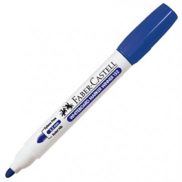 Marker pentru tabla (whiteboard), 2.2mm, albastru, FABER-CASTELL WINNER 152
