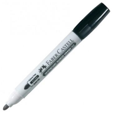 Marker pentru whiteboard, negru, varf rotund, 2.2mm, FABER CASTELL Winner 152
