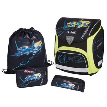 Ghiozdan ergonomic echipat, HERLITZ Sporti Plus SpaceShuttle