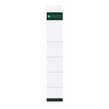 Etichete pentru bibliorafturi, 52mm, gri, 10 buc./set, LEITZ