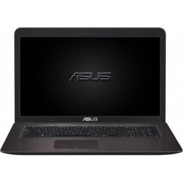 Laptop ASUS F756UX, 17.3'' FHD, Procesor Intel® Core™ i5-6200U pana la 2.80 GHz, 4GB, 2TB + 16GB SSD, GeForce GTX 950M 4GB, FreeDos, Dark Brown