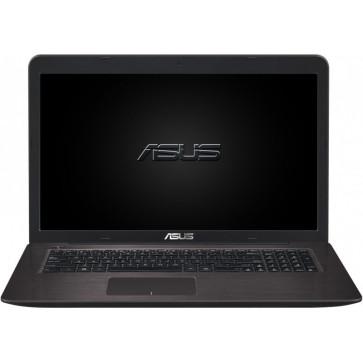 Laptop ASUS F756UX, 17.3'' FHD, Procesor Intel® Core™ i7-6500U pana la 3.10 GHz, 8GB, 2TB + 16GB SSD, GeForce GTX 950M 4GB, FreeDos, Dark Brown
