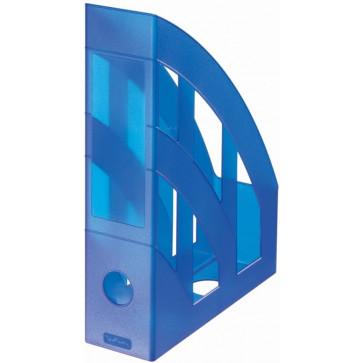 Suport vertical, albastru semitransparent, HERLITZ