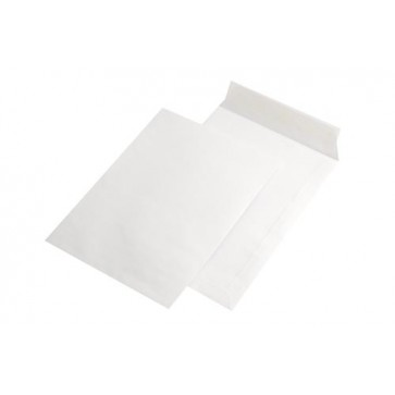 Plic B5, 175 x 250mm, siliconic, alb, 90 g/mp, 500 buc/cutie, GPV
