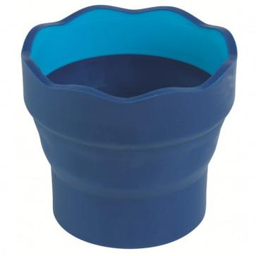 Container pentru apa, albastru, FABER CASTELL Clic&Go