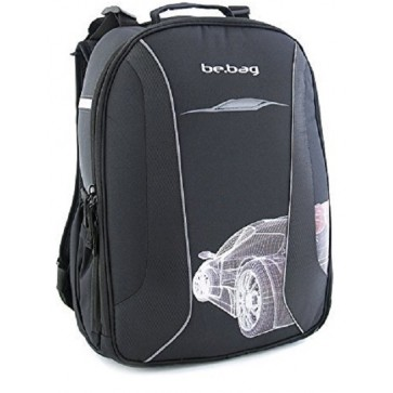 Rucsac ergonomic, HERLITZ Be.Bag Airgo Grid Car