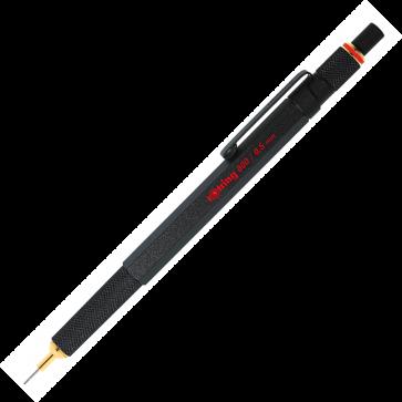 Creion mecanic, 0.5mm, negru, ROTRING 800