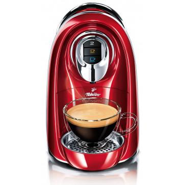 Aparat de cafea, 1.1L, rosu, 15 bar, Espressor TCHIBO Cafissimo Compact