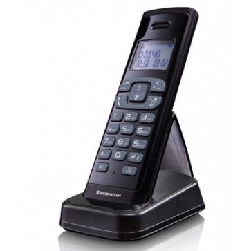 Telefon DECT SAGEMCOM D3140, negru, fara fir
