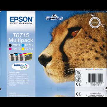 Cartus, 4 culori/set, EPSON C13T07154010