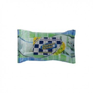 Servetele umede, 15 buc/pachet, SWEET HOME antibacterian