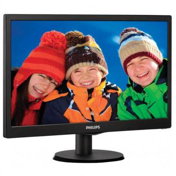 """Monitor LED, 18.5"""", HD, negru, PHILIPS 193V5LSB2/10"""