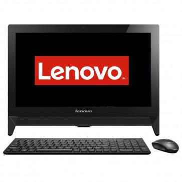 "Sistem All-In-One LENOVO 19.5"" IdeaCentre C20, FHD, Procesor Intel® Celeron® N3050 1.6GHz Braswell, 4GB, 500GB, GMA HD, FreeDos, Black"