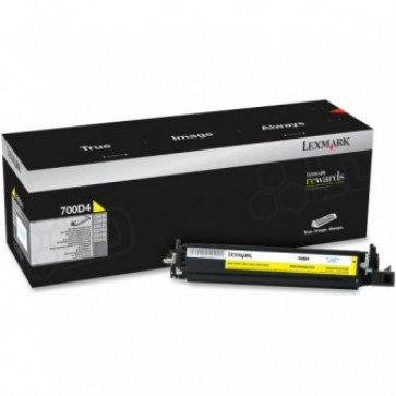 Developer unit, yellow, LEXMARK 70C0D10