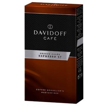 Cafea prajita si macinata, 250g, DAVIDOFF, Expresso 57