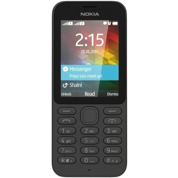 Telefon mobil NOKIA 215 Dual Sim Black