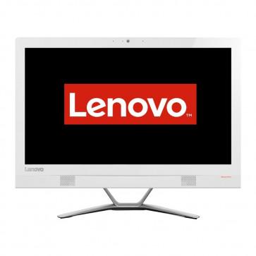 Sistem All-In-One LENOVO 21.5'' IdeaCentre 300, FHD IPS, Procesor Intel® Core™ i3-6100U 2.3GHz Skylake, 4GB, 1TB, GeForce 920A 2GB, FreeDos, White