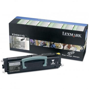 Toner, black, LEXMARK X340A11G