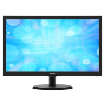 "Monitor LED 21.5"""" Full HD, negru, PHILIPS 223V5LSB/00"