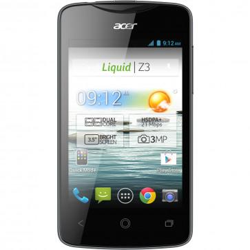 "Smartphone Dual Sim, 3.5"", 3.15MP, 4GB, Black, ACER Liquid Z3"