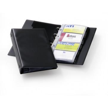 Clasor pentru 96 carti de vizita, negru, DURABLE Visifix Economy