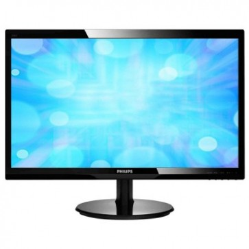 "Monitor LED 24"""", Full HD, negru, PHILIPS 246V5LSB/00"