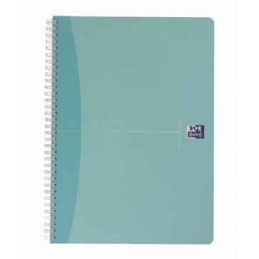 Caiet pentru birou cu spira, diverse culori, A5, 90 file, matematica, OXFORD Beauty