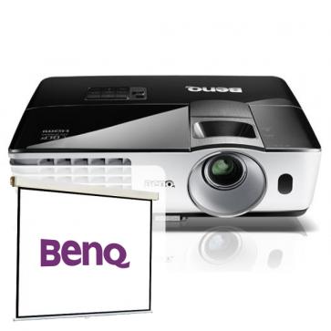 Videoproiector FULL HD, BENQ MH680 + CADOU Ecran de proiectie, 160 x 120cm