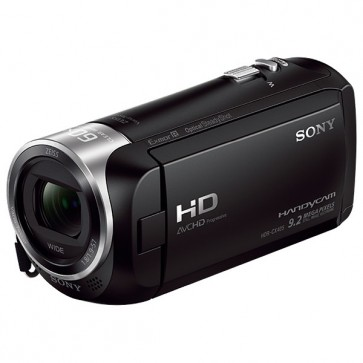 Camera video Full HD, 30x, 2.7 inch, negru, SONY HDR-CX405B