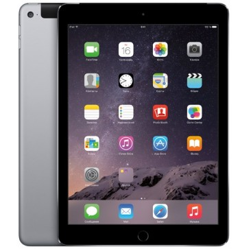 "Apple iPad Air 2 64GB Wi-Fi + 4G Ecran Retina 9.7"", A8X, Space Gray"