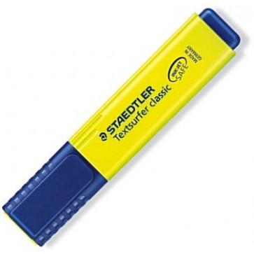Textmarker 1-5mm, galben, STAEDTLER Textsurfer classic