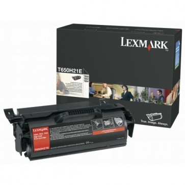 Toner, black, LEXMARK T650H21E