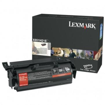 Toner, black, LEXMARK X651H21E