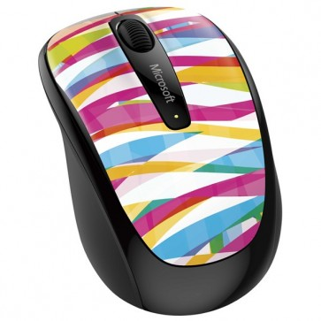 Mouse Wireless MICROSOFT Mobile 3500 Bandage Stripe, 1000dpi