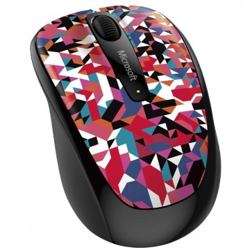 Mouse Wireless MICROSOFT Mobile 3500 Geometric, 1000dpi