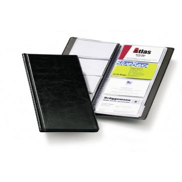 Clasor pentru 96 carti de vizita, negru, DURABLE Visifix