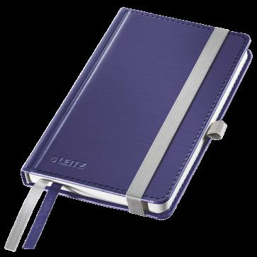 Caiet de birou, A6, dictando, coperta dura, albastru-violet, LEITZ Style
