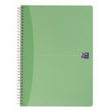 Caiet pentru birou cu spira, diverse culori, A5, 90 file, dictando, OXFORD Beauty