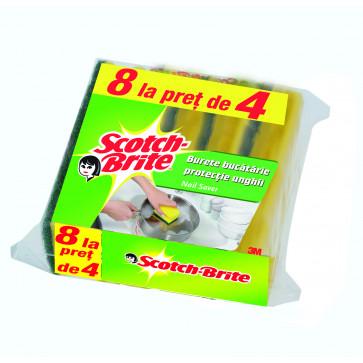 Burete, protectie unghii, 8 buc/set, SCOTCH-BRITE