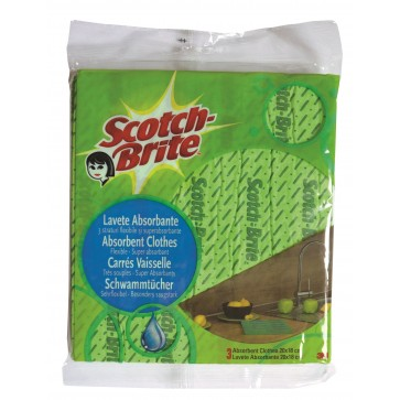 Laveta absorbanta, 5 buc/set, SCOTCH-BRITE