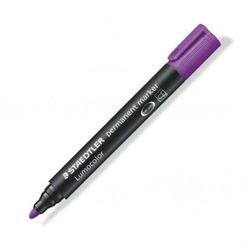 Marker permanent 2mm, violet, STAEDTLER Lumocolor