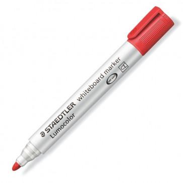 Marker pentru tabla (whiteboard), 2.0mm, rosu, STAEDTLER Lumocolor 351