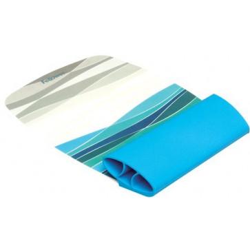 Mousepad cu suport pentru incheieturi, ocean, FELLOWES I-Spire