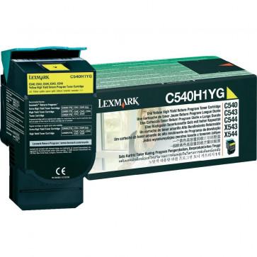 Toner, yellow, LEXMARK C540H1YG