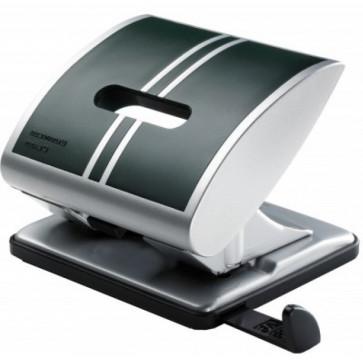 Perforator de birou, pentru maxim 25 coli, verde, LACO Business Class