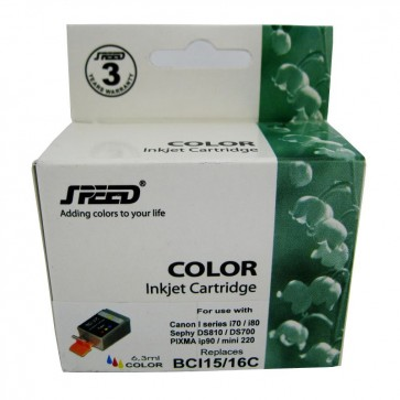 Cartus compatibil color CANON BCI-16C SPEED